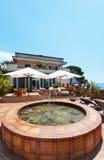 Beautiful terrace Royalty Free Stock Image