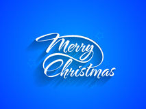 Beautiful text design of Merry Christmas Royalty Free Stock Photos