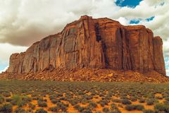 Red Rock, Monument Valley, Utah royalty free stock image