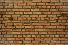 Beautiful texture of the old brick wall Royalty Free Stock Photos