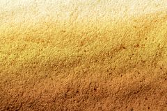 Beautiful texture of yellow sand Stock Photography