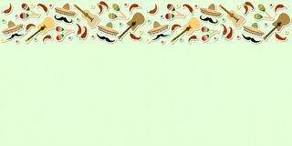 Beautiful textured background for the holiday cinco de mayo banner, logo, postcard, menu. Mexico, musical instruments, maracas, h. Beautiful textured background