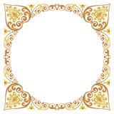 Beautiful textured border frame Stock Photos