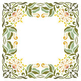 Beautiful textured border frame Royalty Free Stock Images