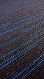 Beautiful blue stripped textured carpet with blue lines. Beautiful textured carpet-fabric textured background design with blue lines vertical frame stock images