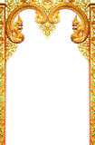 Beautiful Thai art frame. Stock Image