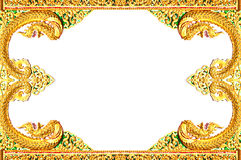 Beautiful Thai art frame. Royalty Free Stock Photos