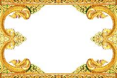 Beautiful Thai art frame. Royalty Free Stock Photos