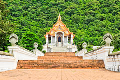 Beautiful thai church royalty free stock image