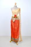 Beautiful Thai dresses Stock Images
