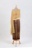 Beautiful Thai dresses Royalty Free Stock Photos