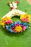 Beautiful Thai garland Stock Photography