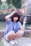 Beautiful thai girl portrait Stock Image