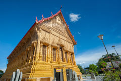 Beautiful Thai golden temple.Thailand Royalty Free Stock Photos