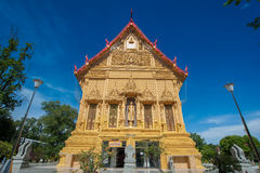 Beautiful Thai golden temple.Thailand Royalty Free Stock Image