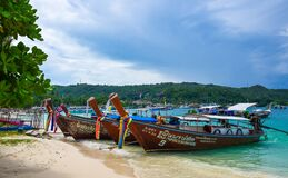 Beautiful Thai islands Royalty Free Stock Image