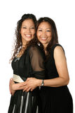 Beautiful Thai mom and daughte Royalty Free Stock Photo