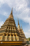 BeautiFul Thai pagoda in Wat Pho, Thailand. Stock Image