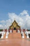Beautiful Thai Royal pavilion in Lanna style, Thailand Royalty Free Stock Photo