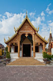 Beautiful Thai style church Royalty Free Stock Photo