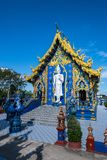 Beautiful Thai style church in Rong Sua Ten temple. Thailand royalty free stock images