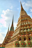 Beautiful Thai style Pagodas Royalty Free Stock Images