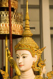 Beautiful thai style sculpture Stock Photo