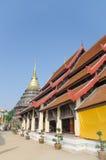 Beautiful thai temple. Lamphang,Thailand Royalty Free Stock Image