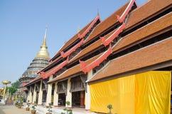 Beautiful thai temple. Lamphang,Thailand Stock Image