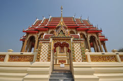 Beautiful Thai temple arched entrance Stock Photography