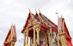 Beautiful Thai temple Royalty Free Stock Image
