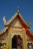 Beautiful thai temple. Chiangmai,Thailand Stock Photos