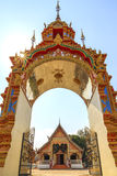 Beautiful Thai temple gate. Stock Photography
