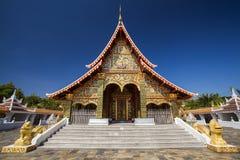 Beautiful thai temple. Stock Photos