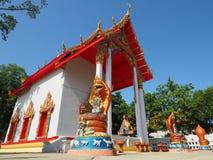 Beautiful Thai temple in peaceful surrounding Stock Photo