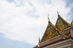 Beautiful Thai Temple in Songkhla. Stock Image