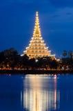 Beautiful thai temple Stock Images