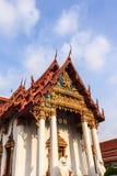 Beautiful Thai temple. At Wat Ammarinthararam, Bangkok noiมbangkok Stock Image