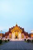Beautiful Thai Temple Wat Benjamaborphit Royalty Free Stock Photography