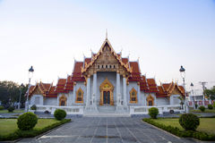 Beautiful Thai Temple Wat Benjamaborphit Stock Images