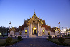 Beautiful Thai Temple Wat Benjamaborphit Stock Image