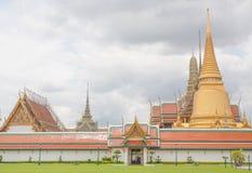 Beautiful Thai Temple Wat Phra Kaew Royalty Free Stock Photos