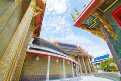 Beautiful Thai Temple Wat Rachabophit Stock Photography