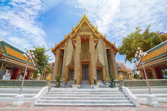 Beautiful Thai Temple Wat Rachabophit Royalty Free Stock Photos