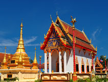 Beautiful Thai temple Wat Sang Lan bathed in morning light Stock Photos
