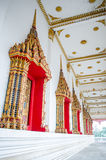 Beautiful  thai temple window. In thailand Royalty Free Stock Image