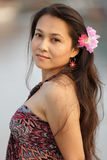 Beautiful thai woman Royalty Free Stock Photo