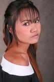 Beautiful Thai woman Royalty Free Stock Photos