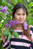 Beautiful Thai woman Stock Photography