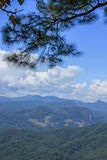 Beautiful in thailand. Beautiful summer mountain high complex in thailand Stock Image
